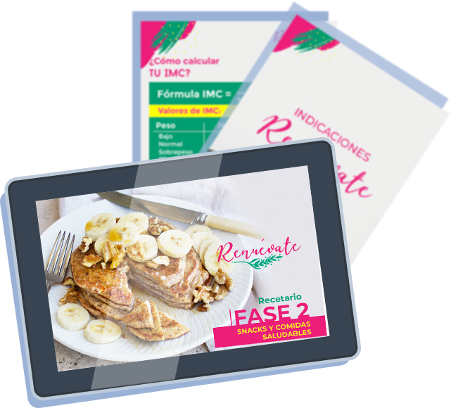 tablet con curso renuevate